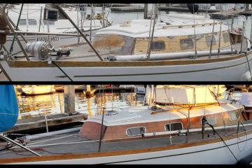 SOLD) 1969 Oceana 30 Pocket Cruiser (Alberg Odyssey 30) for